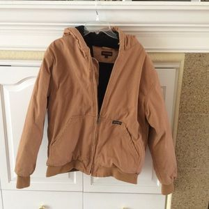 Wolverine duck hooded jacket size Large